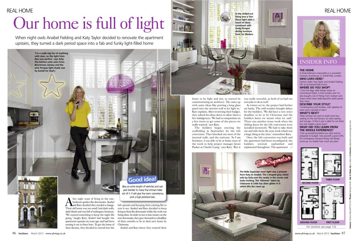 charlie laing project management featured in your home magazine clpm share